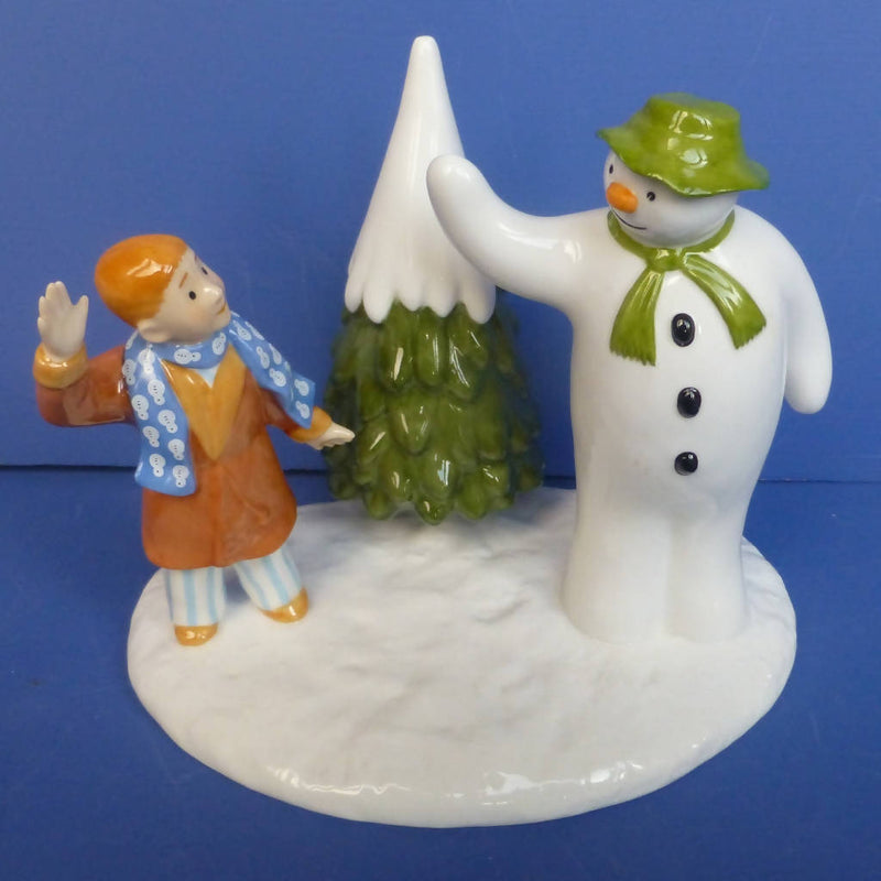 Coalport Limited Edition Snowman Figurine - Goodbye My Friend (Boxed)