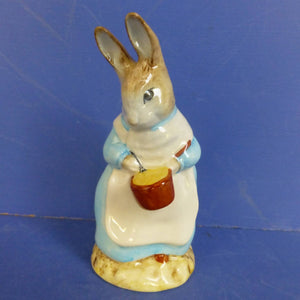 Royal Albert Beatrix Potter Figurine - Mrs Rabbit Cooking - Boxed