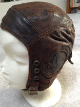 WW2 RAF Type C Leather Flight Helmet