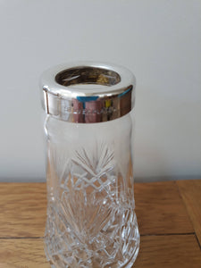 Edinburgh crystal silver plated sugar sifter
