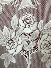 "Arts & Crafts design Sally Off white 52""/80"" 130/210 cms ready to hang lace panel"