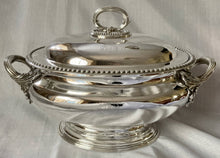 Silver Plated Soup Tureen with Insignia of 2nd Battalion 14th Foot West Yorkshire Regiment. Elkington & Co. 1858.