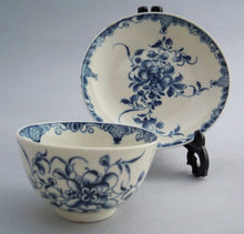 "Antique early Worcester ""Mansfield"" pattern, c1760"