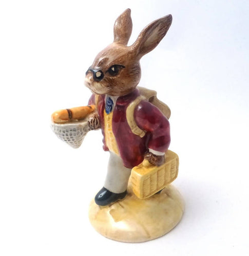 Royal Doulton Bunnykins Figurine Fisherman Bunnykins DB84 (Boxed)