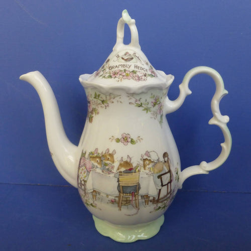 Royal Doulton Brambly Hedge Coffee Pot