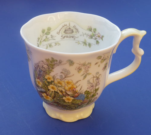 Royal Doulton Brambly Hedge Spring Beaker by Jill Barklem