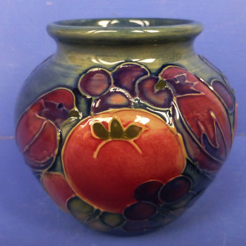 Moorcroft Finches Vase By Sally Tuffin