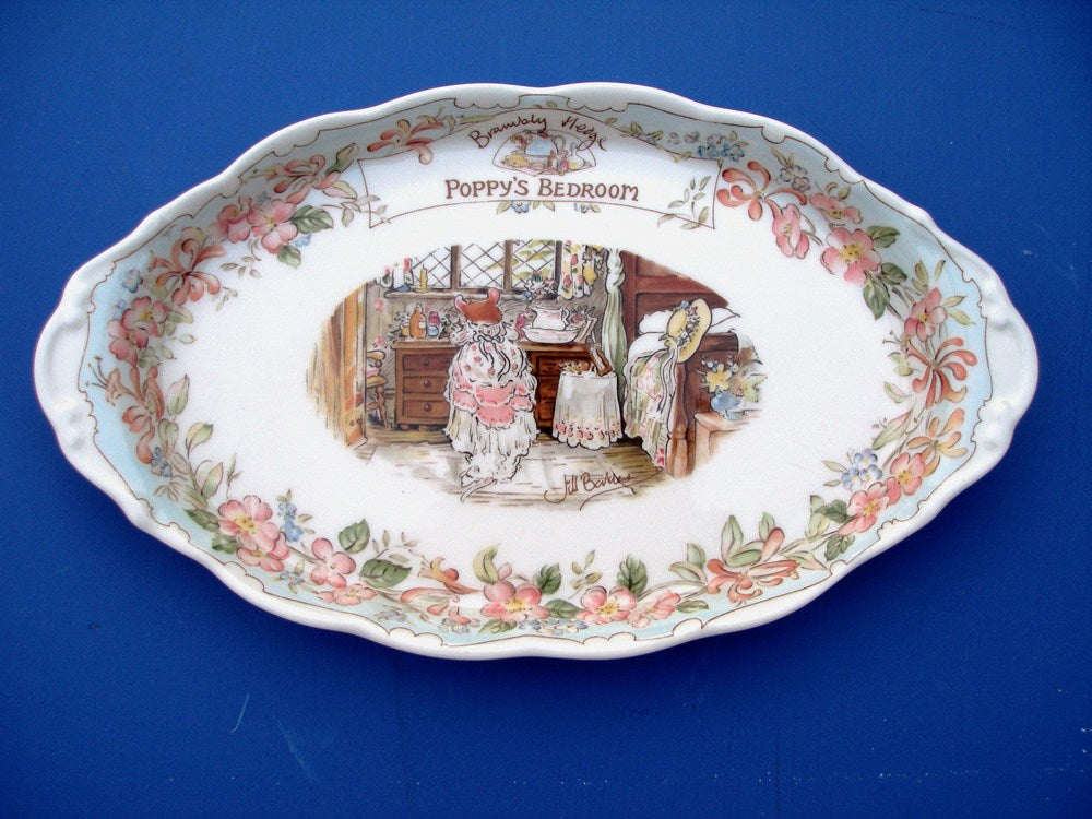 Royal Doulton Brambly Hedge Poppy's Bedroom Regal Tray (Boxed)