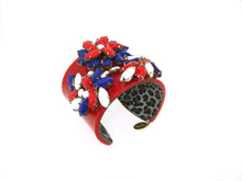 Red White and Blue Bracelet by Katherine Alexander