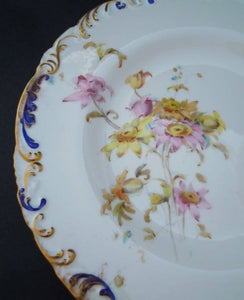 Antique Royal Crown Derby plate 3, 1897