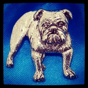 British Bulldog Pin Brooch Badge