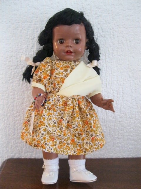 Pedigree Mullato Hard Plastic Doll 13