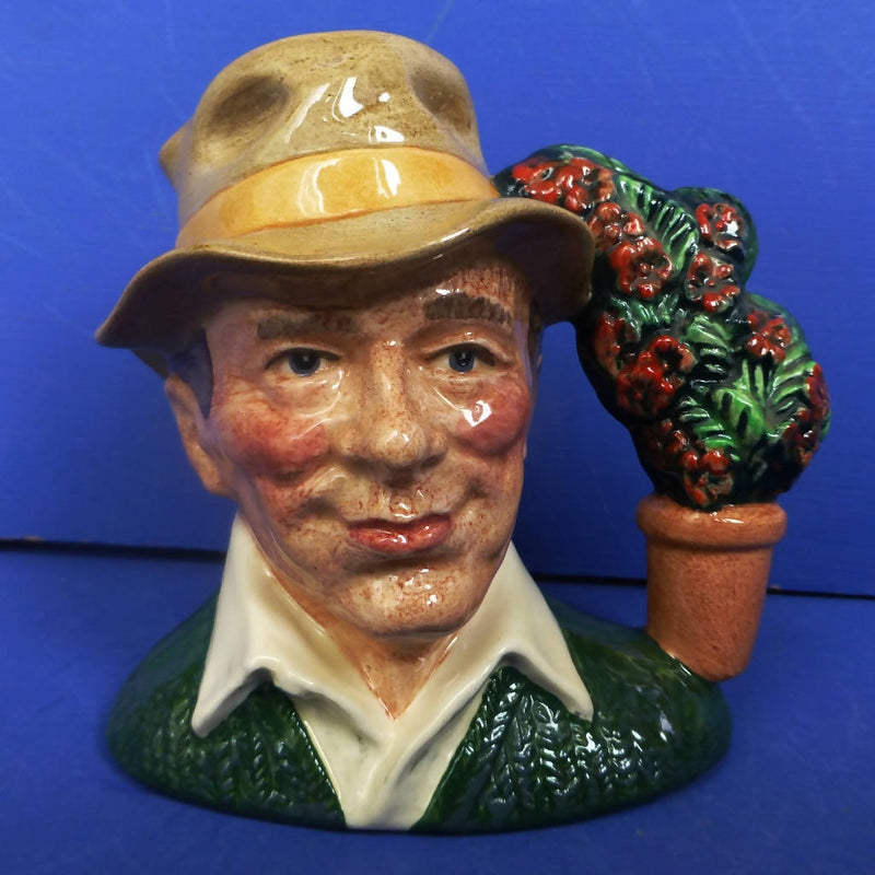 Royal Doulton Small Character Jug The Gardener D6868