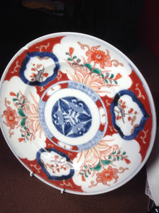 Pair of 19th century Chinese Imari plates