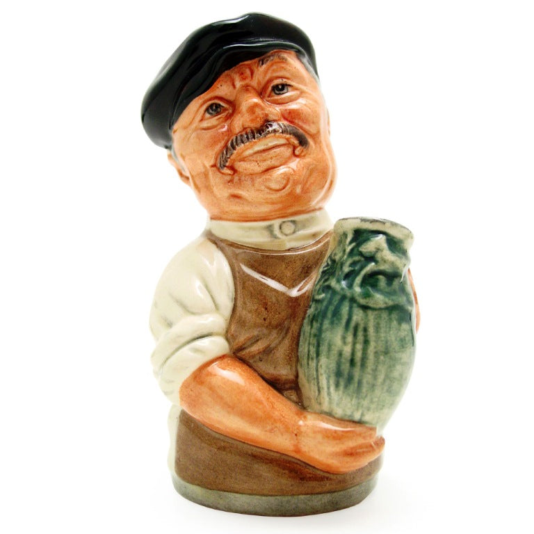 Royal Doulton Doultonville Toby Jug - Albert Sagger the Potter