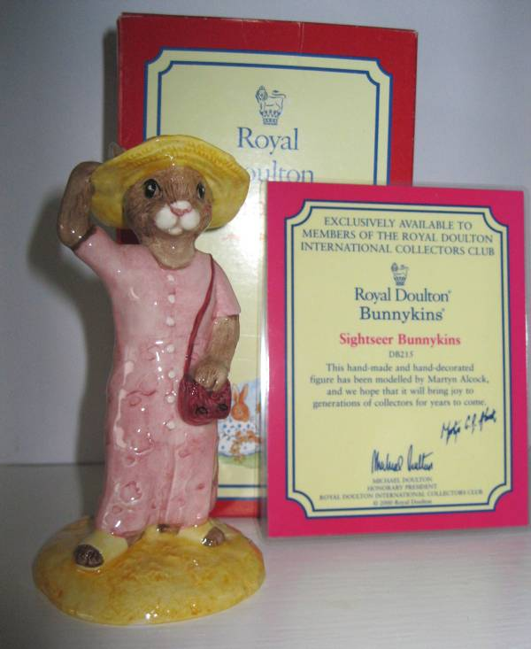 Royal Doulton Sightseer Bunnykins
