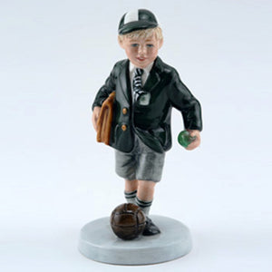 Royal Doulton Figurine - Off To School HN3768 (Boxed)
