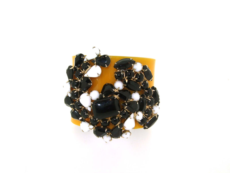 Black and Yellow Bracelet by Katherine Alexander