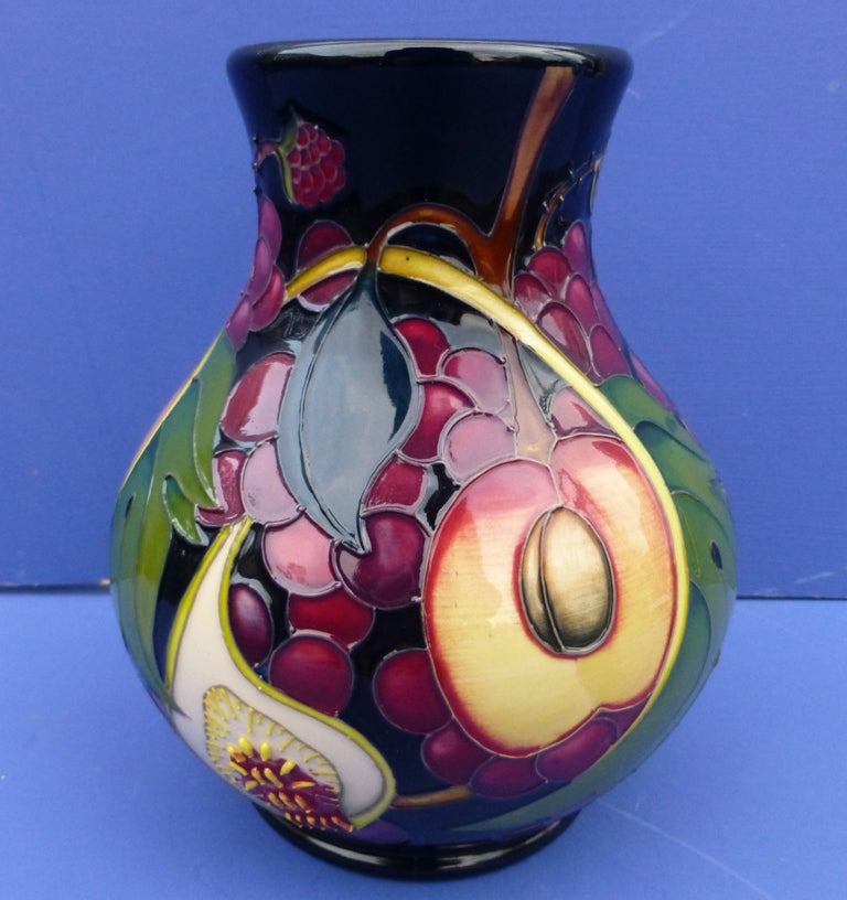 Moorcroft Vase - Queen's Choice by Emma Bossons