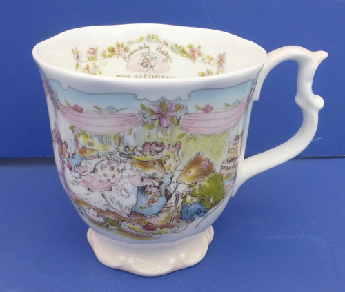 Royal Doulton Brambly Hedge Wedding Beaker (Full Size)
