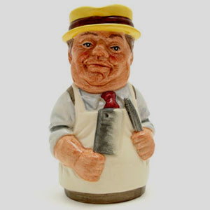 Royal Doulton Doultonville Toby Jug - Mr Brisket The Butcher D6743
