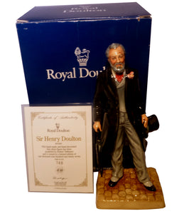 Royal Doulton Limited Edition Character Figurine - Sir Henry Doulton HN3891 (Boxed)