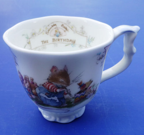 Royal Doulton Brambly Hedge Miniature Birthday Beaker by Jill Barklem