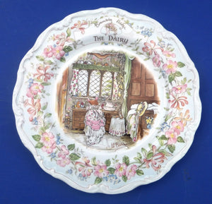Royal Doulton Brambly Hedge Plate The Dairy