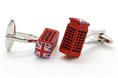 British Telephone Box Cufflinks