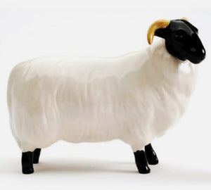 Beswick Black-Faced Sheep Model No 1765