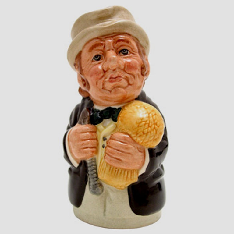 Royal Doulton Doultonville Toby Jug - Mr Furrow The Farmer D6701