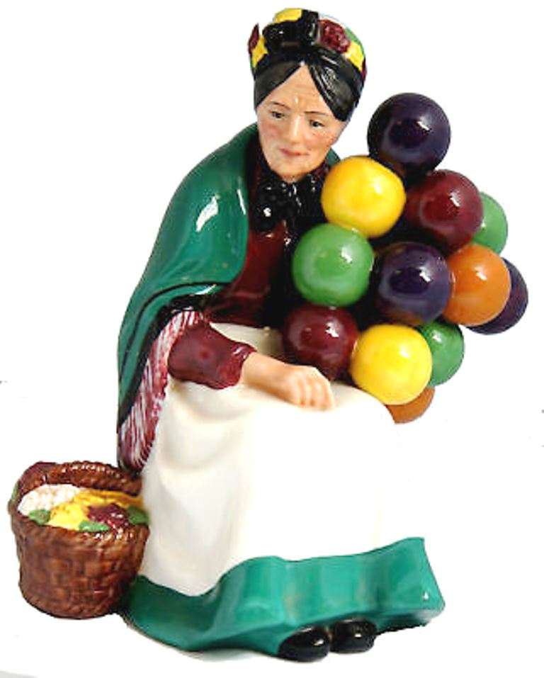 Royal Doulton Figurine - Old Balloon Seller HN1315