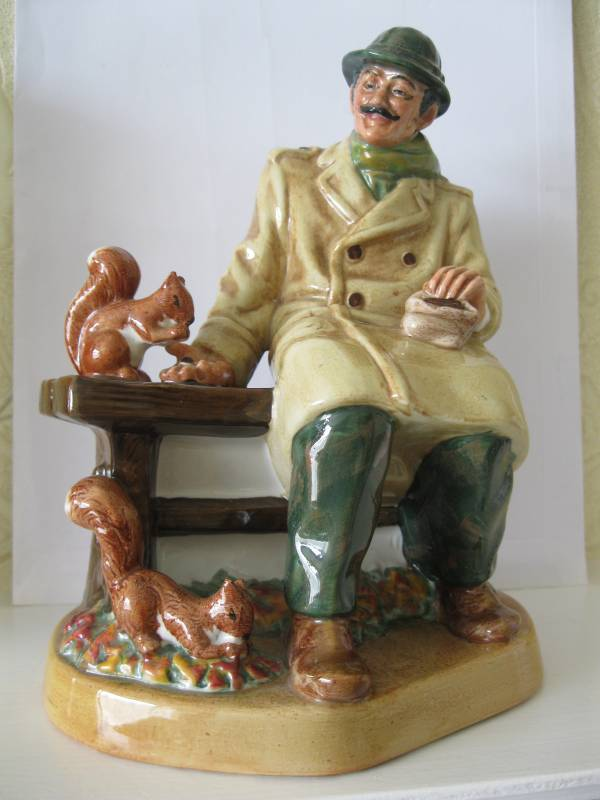 ROYAL DOULTON LUNCHTIME figurine