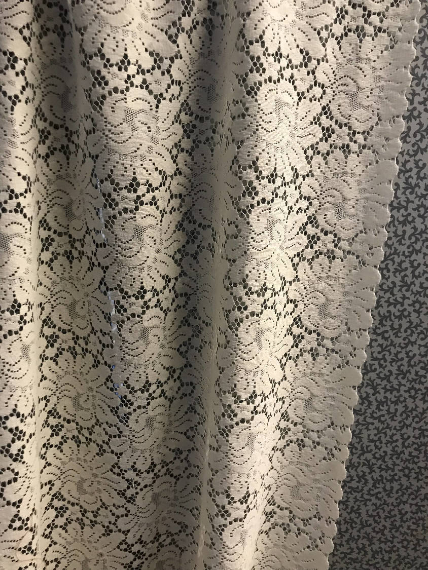 Serena cream cotton lace panelling off the roll available per metre 48