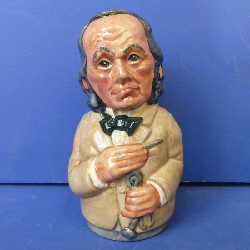 Royal Doulton Doultonville Toby Jug - Dr Pulse The Physician D6723