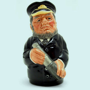 Royal Doulton Doultonville Toby Jug - Captain Salt D6721