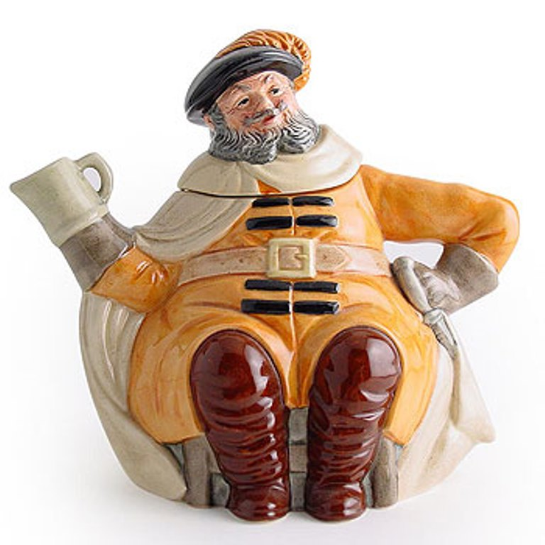 Royal Doulton Falstaff Teapot D6855