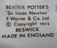 Beswick Beatrix Potter Figurine - Sir Isaac Newton BP3B