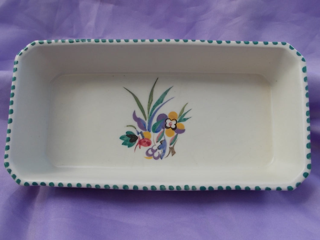 Carter Stabler Adams Poole Pottery 1930's Skinner Tray