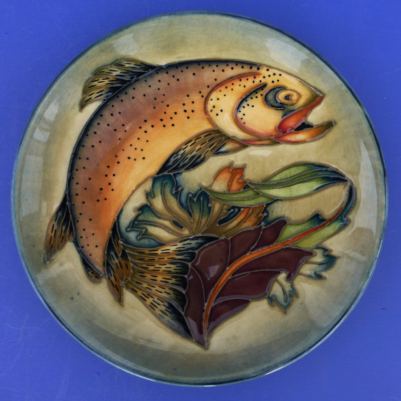 Moorcroft Plare / Tray Trout By Philip Gibson