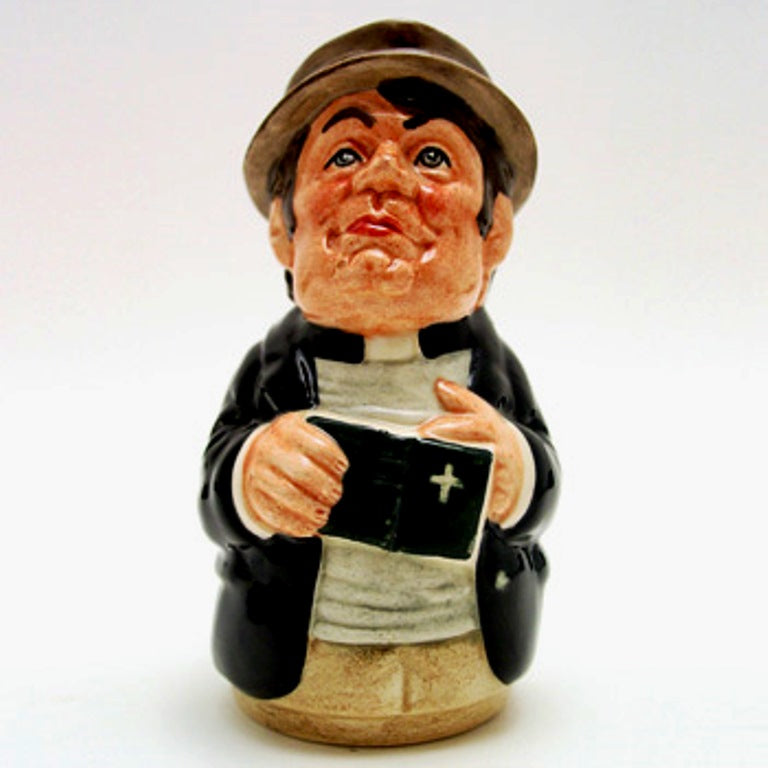 Royal Doulton Doultonville Toby Jug - Rev Cassock the Clergyman D6702
