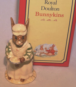 Royal Doulton Bunnykins Figurine Cook DB85 (Boxed)