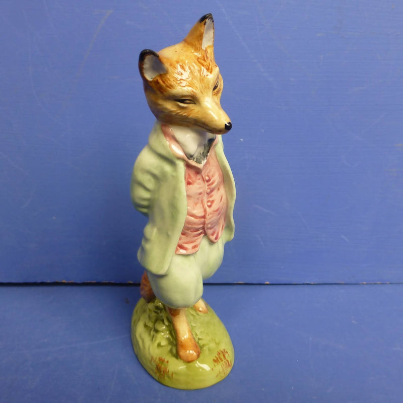 Royal Albert Beatrix Potter Figurine - Foxy Whiskered Gentleman - Boxed