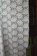 Serena - Victorian Style white Cotton Lace Curtain Panelling By The Metre- Width 120 cms