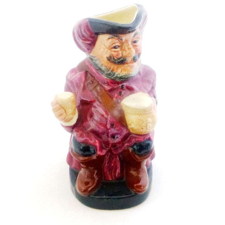 Royal Doulton Small Toby Jug - Falstaff D6063