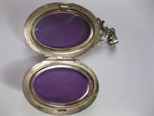 Vintage Sterling Silver Locket By Burkhardt Of Canada (SOLD)