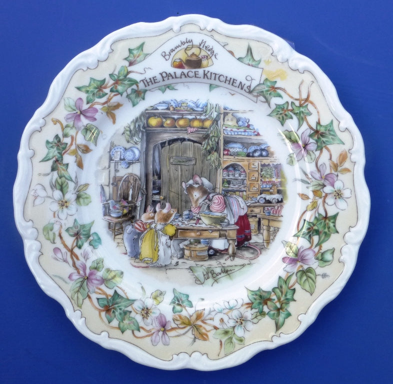 Royal Doulton Brambly Hedge Palace Kitchens Plate