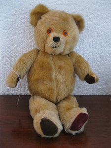 Golden Mohair Bear 16""