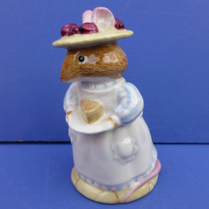 Royal Doulton Brambly Hedge Figurine - Mrs Apple DBH3 (Boxed)