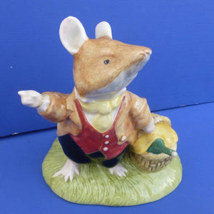 Royal Doulton Brambly Hedge Figurine Lord Woodmouse DBH31
